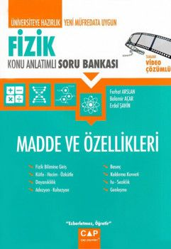Çap Yayınları Üniversiteye Hazırlık Fizik Madde ve Özellikleri