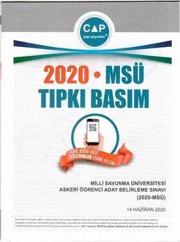 Çap Yayınları Üniversiteye Hazırlık MSÜ 2020 Tıpkı Basım