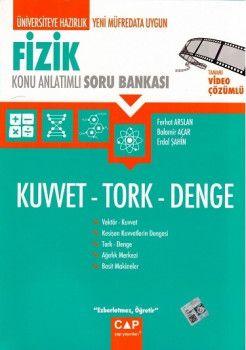 Çap Yayınları  Fizik Kuvvet Tork Denge
