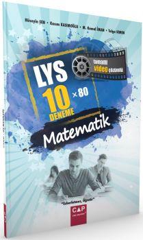 Çap Yayınları LYS Matematik Deneme 10X80 Tamamı Video Çözümlü