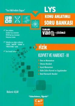 Çap Yayınları LYS Fizik Kuvvet ve Hareket 3 Konu Anlatımlı Soru Bankası