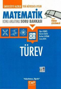 Çap Yayınları Matematik Türev Konu Anlatımlı Soru Bankası