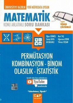Çap Yayınları Permütasyon Kombinasyon Binom Olasılık İstatistik
