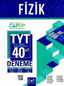 Çap Yayınları TYT Fizik 40 x 7 Up Deneme