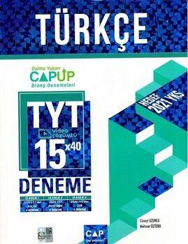Çap Yayınları TYT Türkçe 15 x 40 Up Deneme