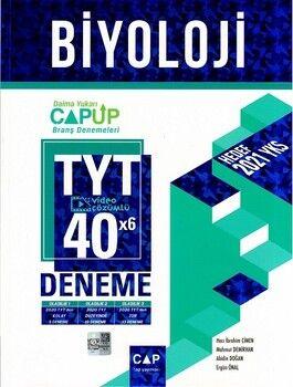Çap Yayınları TYT Biyoloji 40 x 6 Up Deneme