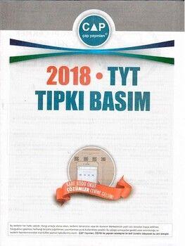 Çap Yayınları TYT 2018 Tıpkı Basım