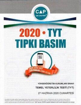 Çap Yayınları TYT 2020 Tıpkı Basım