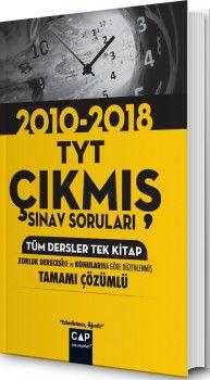 Çap Yayınları TYT Tüm Dersler Tek Kitap Çıkmış Sınav Soruları