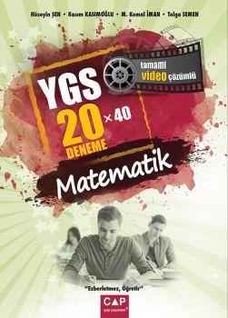 Çap Yayınları YGS Matematik 20x40 Deneme Tamamı Video Çözümlü
