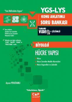 Çap Yayınları YGS LYS Biyoloji Hücre Yapısı Tamamı Video Çözümlü Konu Anlatımlı Soru Bankası