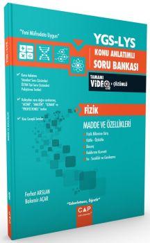 Çap Yayınları YGS LYS Fizik Madde ve Özellikleri Konu Anlatımlı Soru Bankası