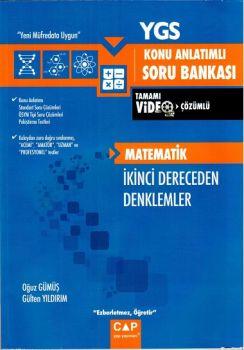 Çap Yayınları YGS Matematik İkinci Dereceden Denklemler Konu Anlatımlı Soru Bankası