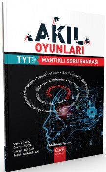 Çap Yayınları YKS 1. Oturum TYT Akıl Oyunları Mantıklı Soru Bankası