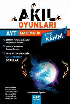 Çap Yayınları YKS 2. Oturum AYT Akıl Oyunları Matematik Soru Bankası