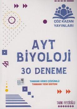 Çöz Kazan AYT Biyoloji 30 Deneme