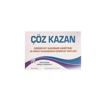 Çöz Kazan AYT Edebiyat Kavram Haritası ve Sınav Kazandıran Edebiyat Notları