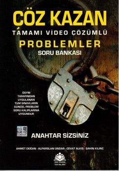 Çöz Kazan Yayınları Problemler Tamamı Çözümlü Soru Bankası