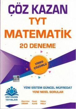 Çöz Kazan Yayınları TYT Matematik 20 Deneme