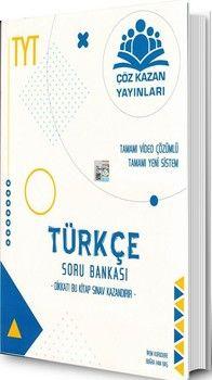 Çöz Kazan Yayınları TYT Türkçe Soru Bankası