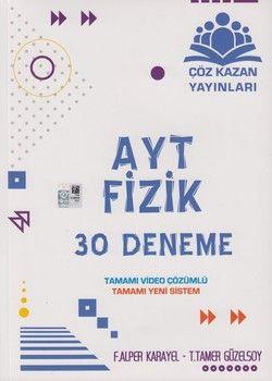 Çöz Kazan Yayınları AYT Fizik 30 Deneme