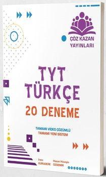 Çöz Kazan Yayınları TYT Türkçe 20 Deneme