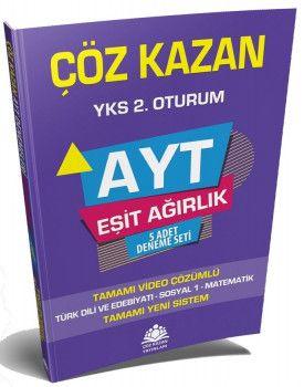 Çöz Kazan Yayınları YKS 2. Oturum AYT Eşit Ağırlık 5 Deneme