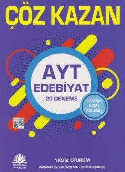 Çöz Kazan Yayınları YKS 2. Oturum AYT Edebiyat Tamamı Video Çözümlü 20 Deneme