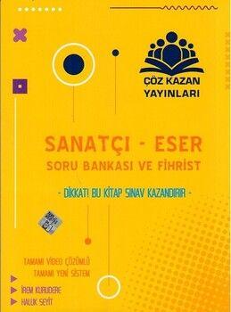 Çöz Kazan Yayınları Sanatçı Eser Soru Bankası ve Fihrist