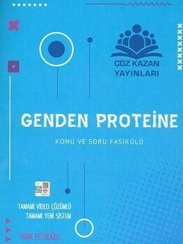 Çöz Kazan Yayınları AYT Genden Proteine Biyoloji Konu Anlatım ve Soru Fasikülü