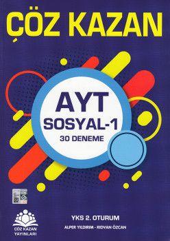 Çöz Kazan Yayınları AYT Sosyal 1 30 Deneme