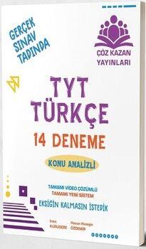 Çöz Kazan Yayınları TYT Türkçe 14 lü Tamamı Video Çözümlü Denemeleri