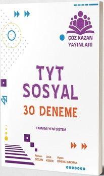 Çöz Kazan YayınlarıTYT Sosyal 30 lu Tamamı Video Çözümlü Denemeleri
