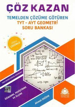 Çöz Kazan Yayınları TYT AYT Geometri Soru Banksı