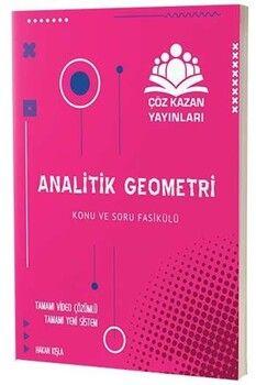 Çöz Kazan Yayınları TYT AYT Analitik Geometri Konu ve Soru Fasikülü