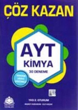 Çöz Kazan Yayınları AYT Kimya 30 Deneme