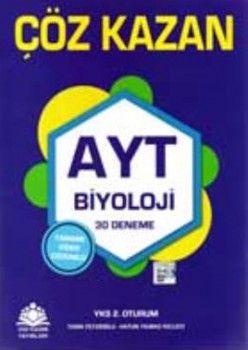 Çöz Kazan Yayınları AYT Biyoloji 30 Deneme