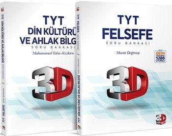 Çözüm Yayınları TYT Felsefe ve Din Kültürü ve Ahlak Bilgisi 3D Soru Bankası