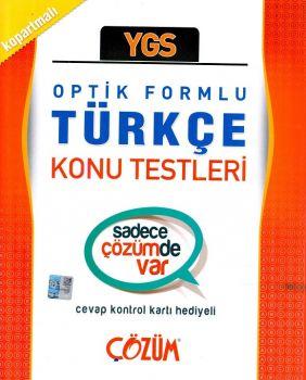 Çözüm Yayınları YGS Türkçe Optik Formlu Konu Testleri
