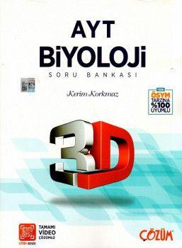 Çözüm Yayınları AYT Biyoloji 3D Soru Bankası