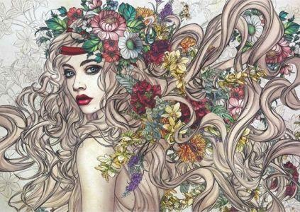 Çiçeklerin Gücü Flower Power 1500 Parça Yapboz