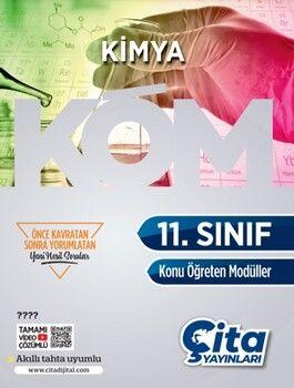 Çita Yayınları 11. Sınıf Kimya Konu Öğreten Modüller
