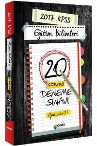 Öabt Okulu Yayınları 2017 KPSS Eğitim Bilimleri Çözümlü 20 Deneme Sınavı