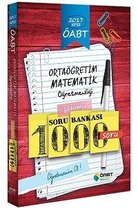 Öabt Okulu Yayınları 2017 ÖABT Ortaöğretim Matematik Öğretmenliği Çözümlü Soru Bankası