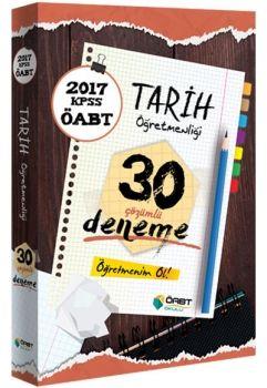 Öabt Okulu Yayınları 2017 ÖABT Tarih Öğretmenliği Çözümlü 30 Deneme