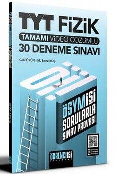 Öğrenci İşi Yayınları TYT Fizik Tamamı Video Çözümlü 30 Deneme Sınavı