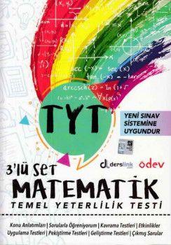 Ödev Yayınları YKS 1. Oturum TYT Matematik 3 lü Set