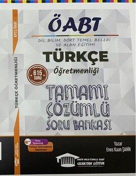 Ömür Hoca Uzaktan Eğitim 2020 ÖABT Türkçe Öğretmenliği Çözümlü Soru Bankası