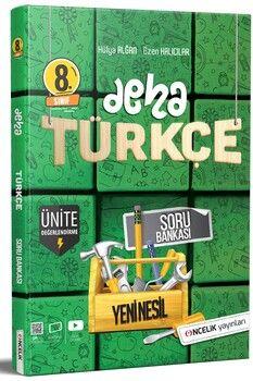 Öncelik Yayınları 8. Sınıf Türkçe Deha Soru Bankası