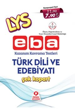 Örnek Akademi LYS EBA Türk Dili ve Edebiyatı Çek Kopart